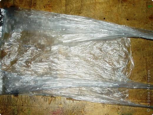 ...из целлофанового пакета (или фантиков) Материал бросовый, Материал...
