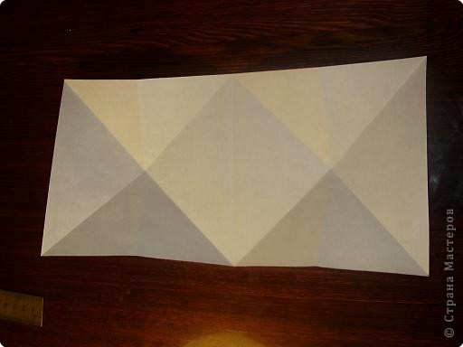 Мастер-класс, Открытка, Поделка, изделие Оригами: Открытка  Бумага Валентинов день, 8 марта, День рождения, Свадьба. Фото 3