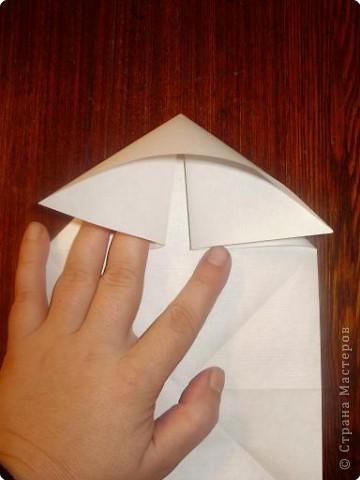 Мастер-класс, Открытка, Поделка, изделие Оригами: Открытка  Бумага Валентинов день, 8 марта, День рождения, Свадьба. Фото 4