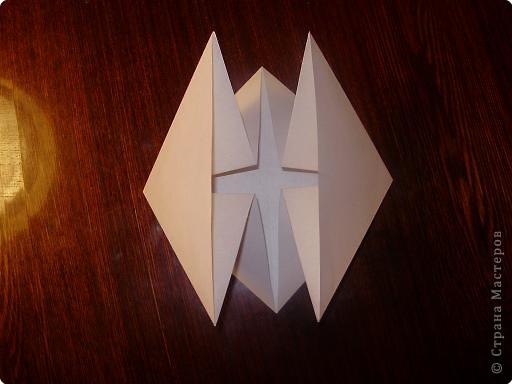 Мастер-класс, Открытка, Поделка, изделие Оригами: Открытка  Бумага Валентинов день, 8 марта, День рождения, Свадьба. Фото 5