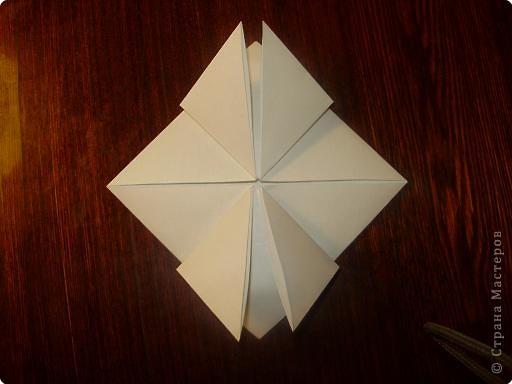Мастер-класс, Открытка, Поделка, изделие Оригами: Открытка  Бумага Валентинов день, 8 марта, День рождения, Свадьба. Фото 6