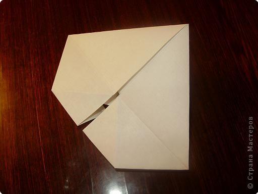 Мастер-класс, Открытка, Поделка, изделие Оригами: Открытка  Бумага Валентинов день, 8 марта, День рождения, Свадьба. Фото 9
