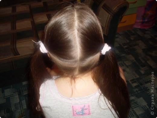 """Мастер-класс, Прическа Плетение: МК Прически для любимой дочурки """"Коса крест на крест"""". Фото 1"""
