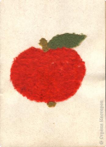 Поделка яблоко из ниток своими руками 50