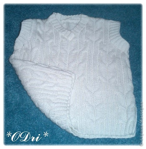 вязание спицами женское жилет - Узоры.