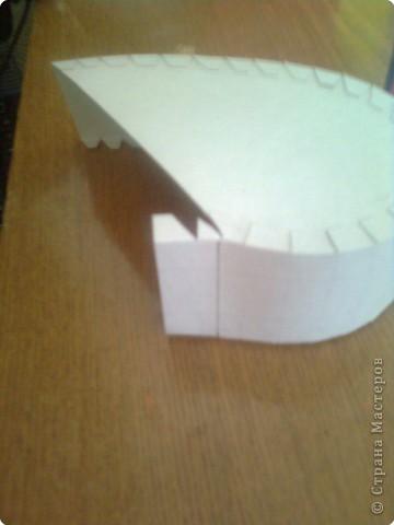 Подарочная коробочка в форме сердца