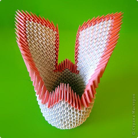 Мастер-класс Оригами модульное: Мастер-класс двойного лебедя Бумага. Фото 18