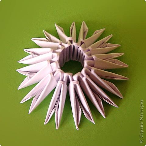 Мастер-класс Оригами модульное: Мастер-класс двойного лебедя Бумага. Фото 29