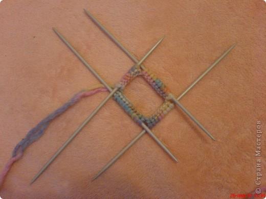 Мастер-класс Вязание спицами: Самые простые пинетки.  МК.  Пряжа.