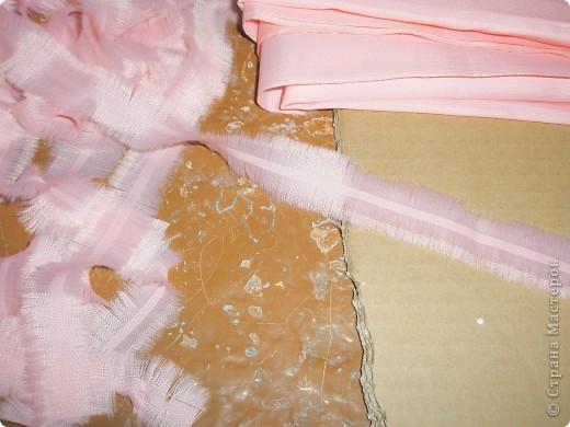 Мастер-класс Плетение: Мастер – класс «Подарочная корзинка»  Ткань 8 марта. Фото 8