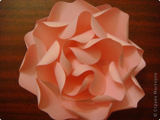 Бумагопластика: Мк. Роза из ксероксной бумаги