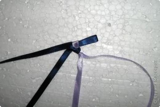 Плетение: Фенечка из лент