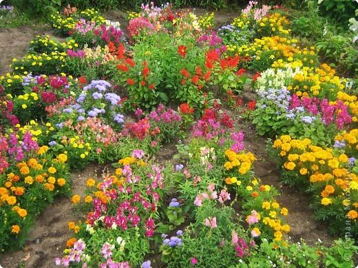Украсим огород своими руками фото