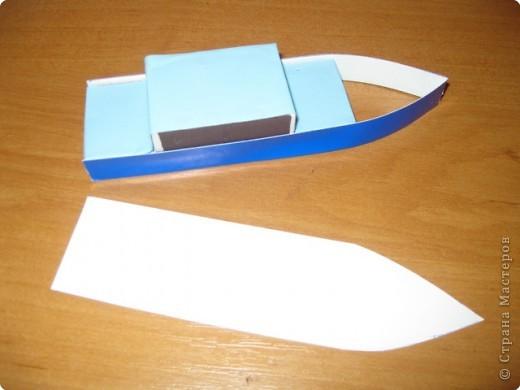 Как сделать себе карабль из бумаги