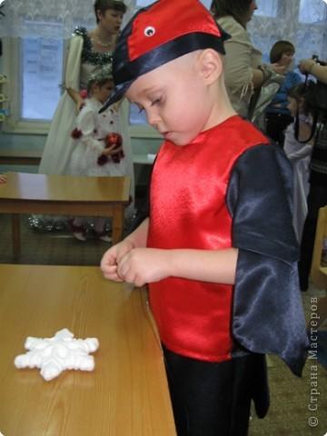 Своими руками новогодний костюм снегиря