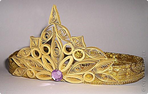 Поделки из бумаги корона