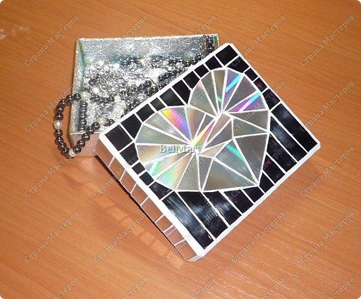 Аппликация, Мозаика: Мозаичная шкатулочка МК. Фото 19