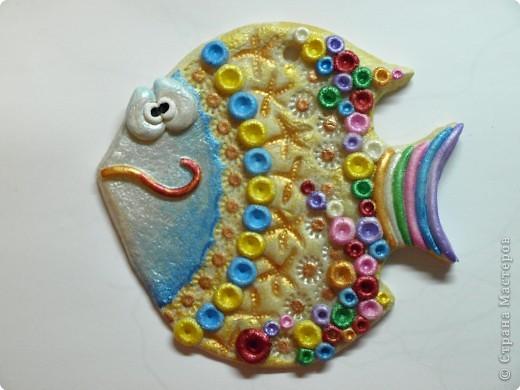 Мастер-класс Лепка: МК по лепке рыб или о том как их делаю я) Тесто соленое. Фото 1