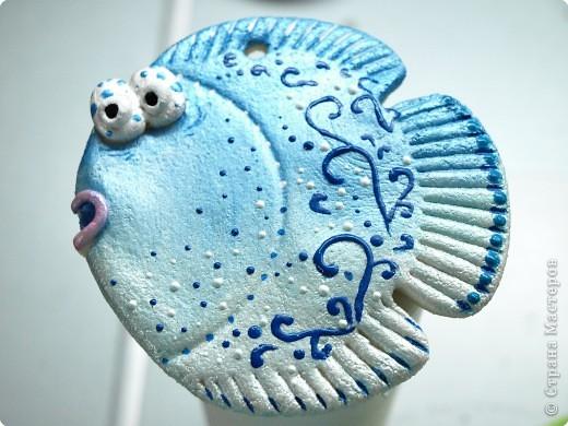 Роспись: мини-МК по раскраске рыб или как это делаю я . Фото 1