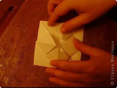 Мастер-класс, Открытка, Поделка, изделие Оригами: Открытка  Бумага Валентинов день, 8 марта, День рождения, Свадьба. Фото 14