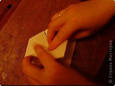 Мастер-класс, Открытка, Поделка, изделие Оригами: Открытка  Бумага Валентинов день, 8 марта, День рождения, Свадьба. Фото 17