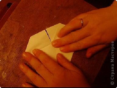 Мастер-класс, Открытка, Поделка, изделие Оригами: Открытка  Бумага Валентинов день, 8 марта, День рождения, Свадьба. Фото 18