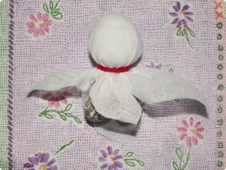 Куклы, Мастер-класс Шитьё: Кукла на Счастье МК Ткань 8 марта. Фото 8