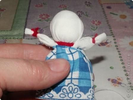 Куклы, Мастер-класс Шитьё: Кукла на Счастье МК Ткань 8 марта. Фото 13