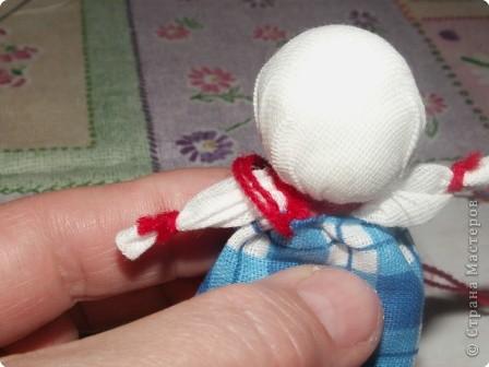 Куклы, Мастер-класс Шитьё: Кукла на Счастье МК Ткань 8 марта. Фото 14