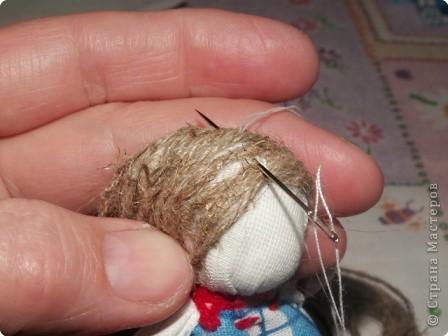 Куклы, Мастер-класс Шитьё: Кукла на Счастье МК Ткань 8 марта. Фото 15