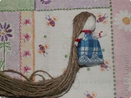Куклы, Мастер-класс Шитьё: Кукла на Счастье МК Ткань 8 марта. Фото 17