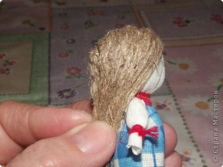 Куклы, Мастер-класс Шитьё: Кукла на Счастье МК Ткань 8 марта. Фото 16