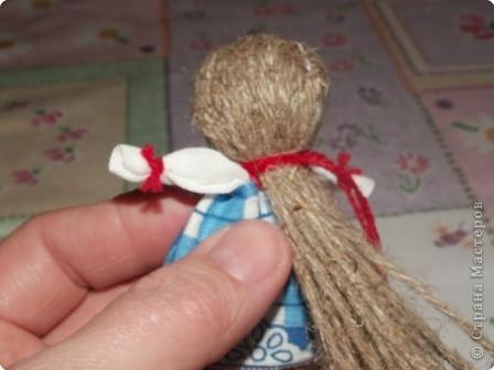 Куклы, Мастер-класс Шитьё: Кукла на Счастье МК Ткань 8 марта. Фото 18