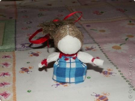 Куклы, Мастер-класс Шитьё: Кукла на Счастье МК Ткань 8 марта. Фото 21