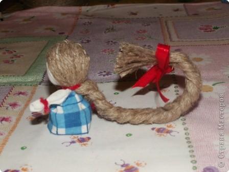Куклы, Мастер-класс Шитьё: Кукла на Счастье МК Ткань 8 марта. Фото 19