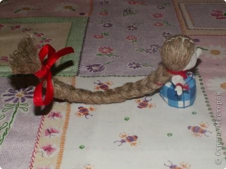 Куклы, Мастер-класс Шитьё: Кукла на Счастье МК Ткань 8 марта. Фото 20