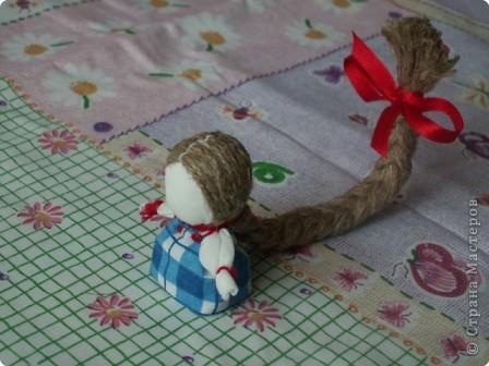 Куклы, Мастер-класс Шитьё: Кукла на Счастье МК Ткань 8 марта. Фото 22