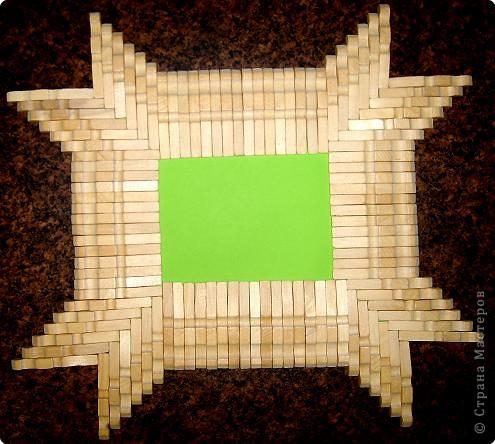 Мастер-класс, Поделка, изделие: МК. Рамки из прищепок. Прищепки. Фото 7