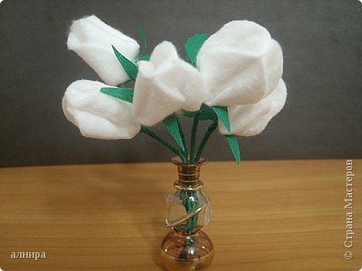 Поделки цветы из подручных средств 971