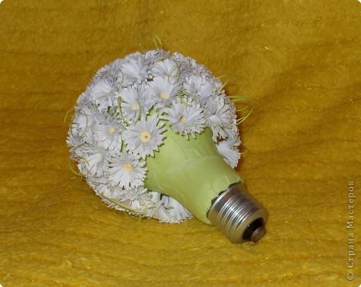 Декор предметов, Поделка, изделие Квиллинг: Раз ромашка, два ромашка 8 марта. Фото 3