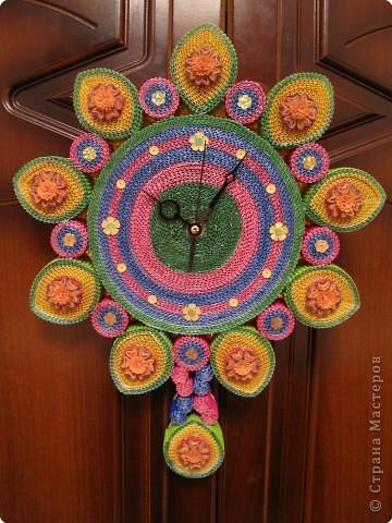 Как сделать цветочные часы из картона - Opalubka-Pekomo.ru