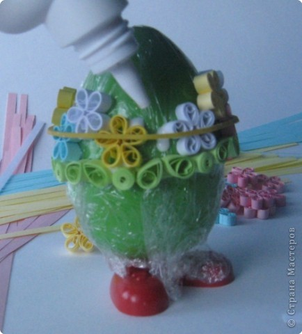 Поделка, изделие Квиллинг: МК Дорого яичко... Глава II Бумага. Фото 16