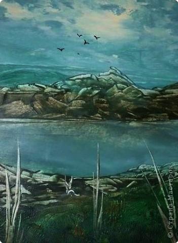 Картина, панно, рисунок Энкаустика: ЭНКАУСТИКА-ВОСКОВАЯ ЖИВОПИСЬ Воск. Фото 3