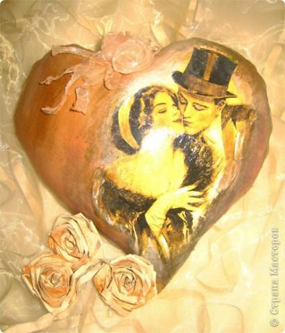 Декор предметов Декупаж: Ретро валентинки. Ткань Валентинов день. Фото 7