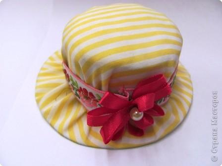 Поделка, изделие: Подарочная упаковка (для шляпки) Бумага, Картон...