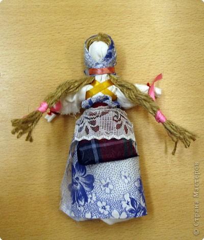 Миниатюрная кукла своими руками