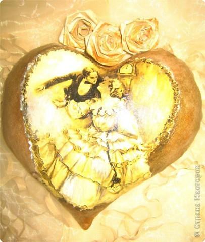 Декор предметов Декупаж: Ретро валентинки. Ткань Валентинов день. Фото 6