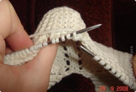 Мастер-класс Вязание спицами: Вязание следков. Нитки. Фото 10