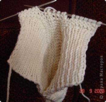 Мастер-класс Вязание спицами: Вязание следков. Нитки. Фото 11