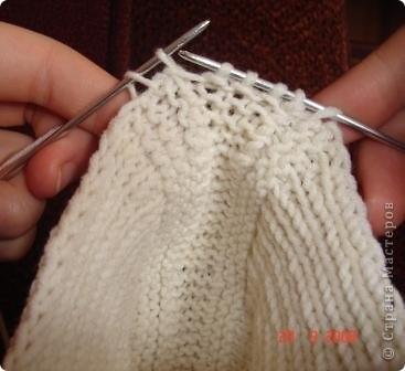 Мастер-класс Вязание спицами: Вязание следков. Нитки. Фото 13
